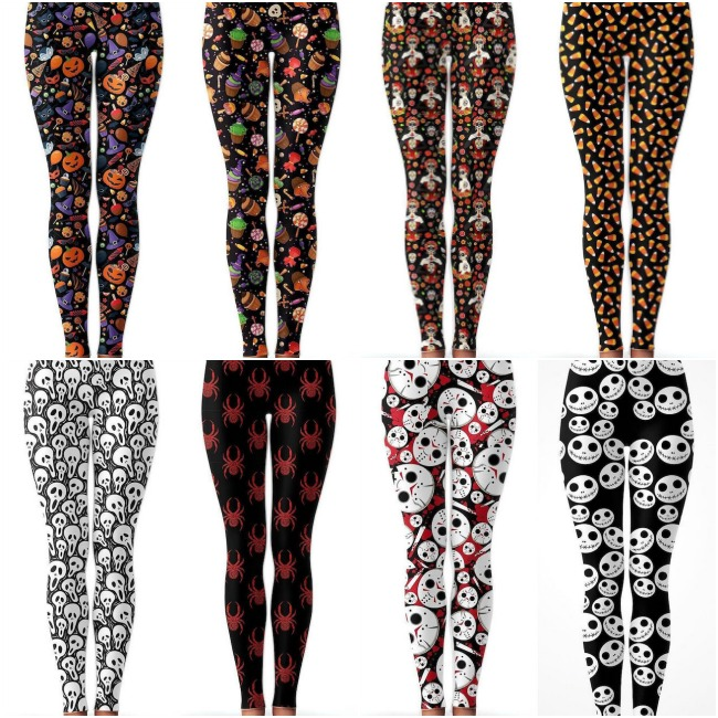 Fun Comfortable Charlie's Project Halloween Leggings On Sale Now - With 20% Off Coupon!