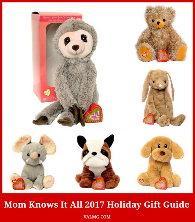 Mom Knows It All 2017 HOLIDAY GIFT GUIDE - My Baby's Heartbeat Bear