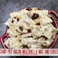 Instant Pot Bacon Mozzarella Mac And Cheese Recipe