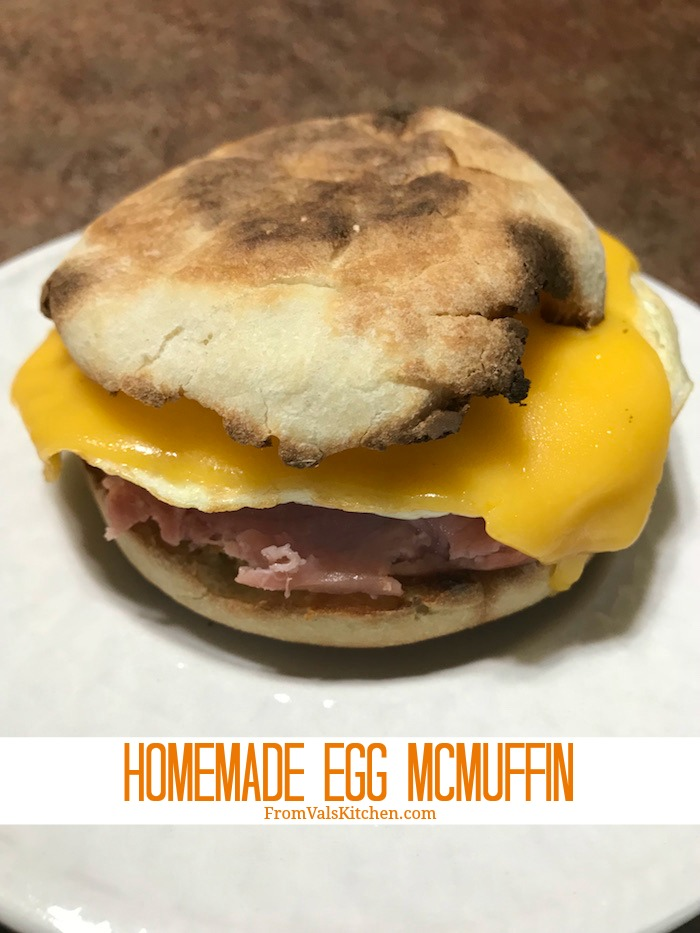 Homemade Egg McMuffin Recipe From Val's Kitchen