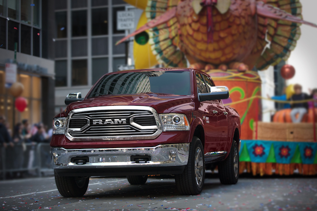 Ram Official Truck of the 2017 Macy's Thanksgiving Day Parade