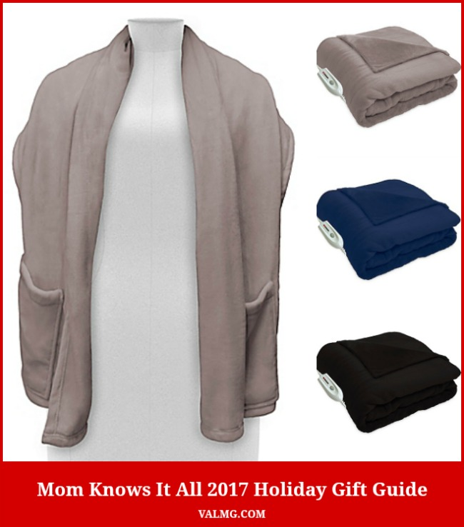 Mom Knows It All 2017 HOLIDAY GIFT GUIDE - Therapedic Warm Me Up Electric Heated Wrap