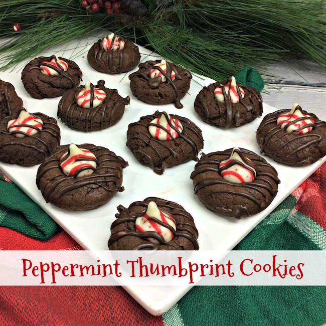 Peppermint Thumbprint Cookies Recipe