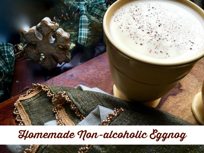 Homemade Non-Alcoholic Eggnog Recipe