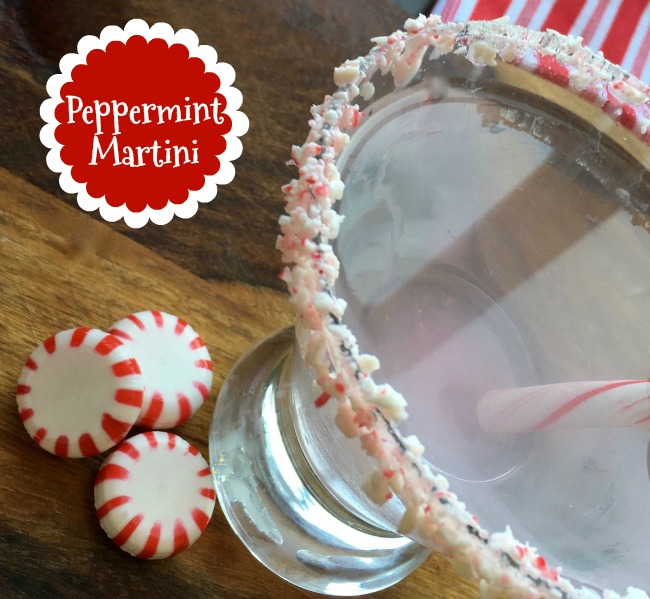 Peppermint Martini Recipe