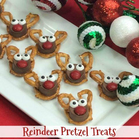Reindeer Pretzel Treats