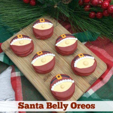 Santa Belly Oreos Recipe