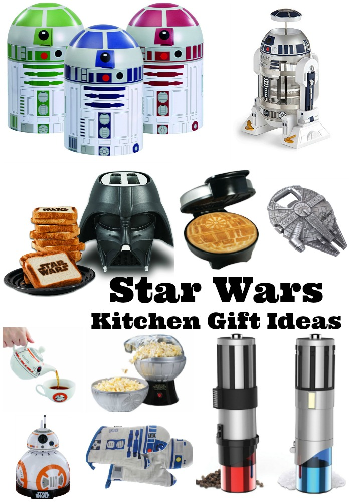 2017 HOLIDAY GIFT GUIDE – 18 Star Wars Kitchen Gift Ideas