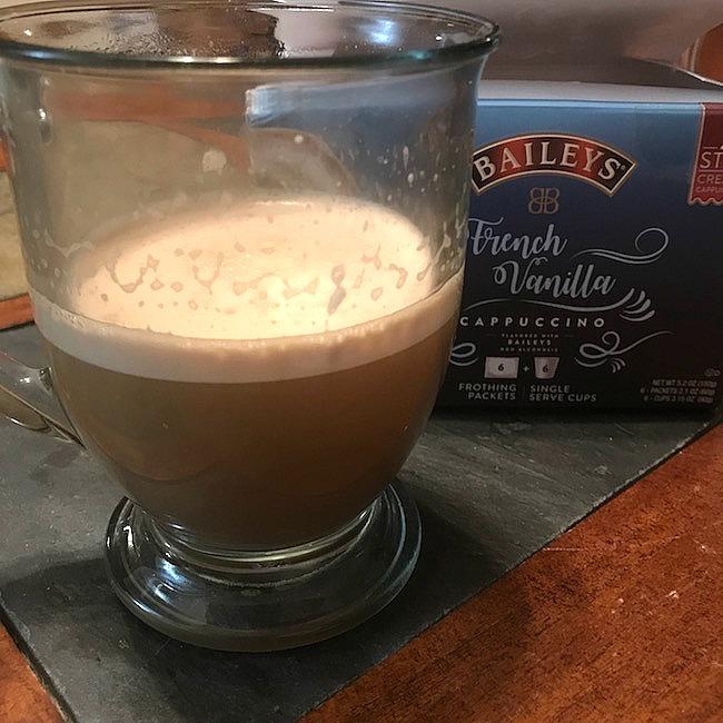 Single Serve Baileys Cappuccino K-Cups #MomBlogTourFF