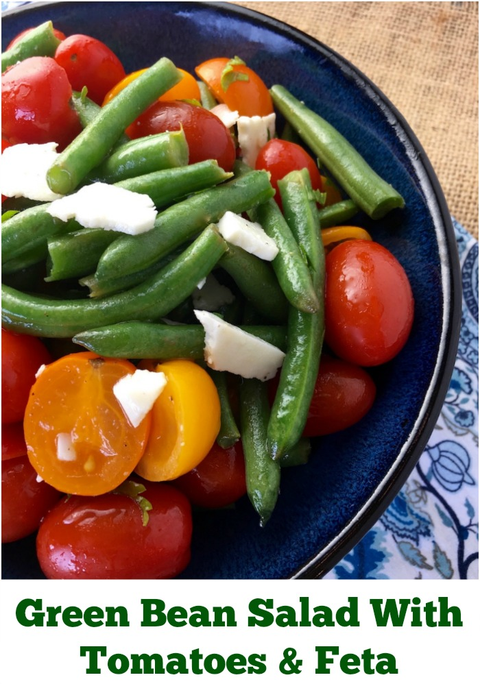 Recipe For Green Bean Salad With Tomatoes & Feta
