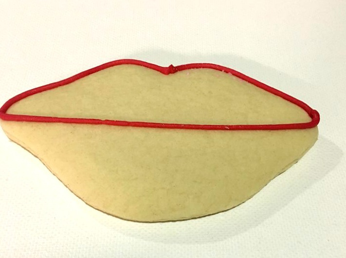 Hot Lips Sugar Cookies Recipe For Valentine's Day