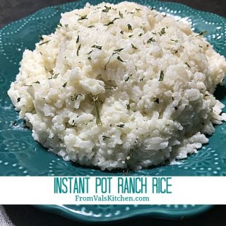 Instant Pot Ranch Rice Recipe From Val's Kitchen