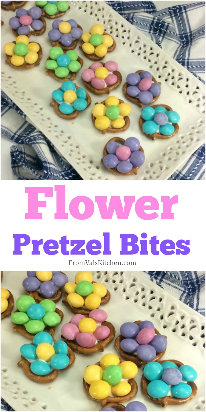 Flower Pretzel Bites Recipe From Val's Kitchen