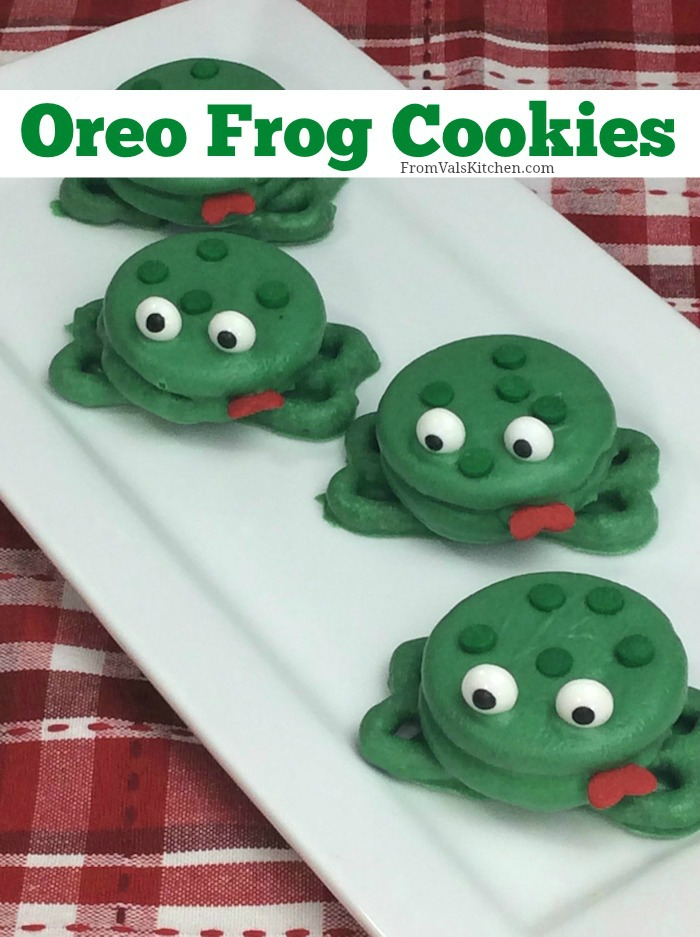 Oreo Frog Cookies Recipe From Val's Kitchen