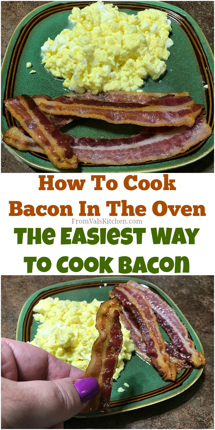 How To Cook Bacon In The Oven, The Easiest Way To Cook Bacon