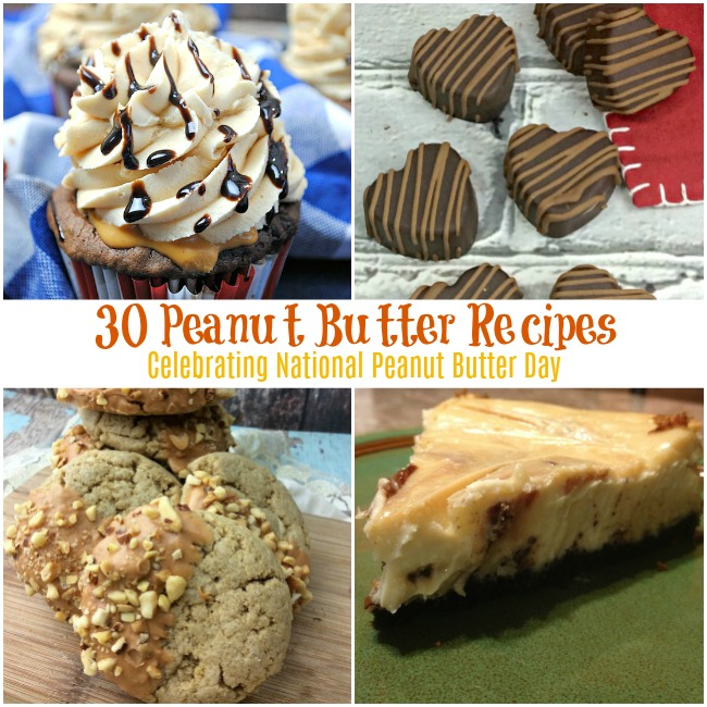 30 Peanut Butter Recipes Celebrating National Peanut Butter Day