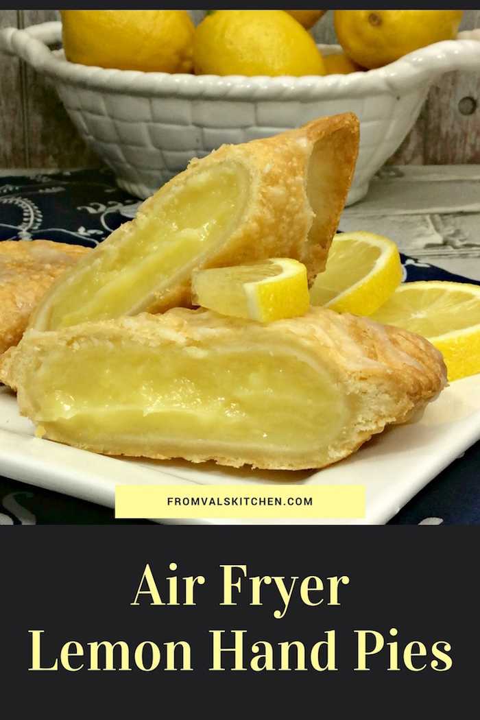 Air Fryer Lemon Hand Pies Recipe From Val's Kitchen