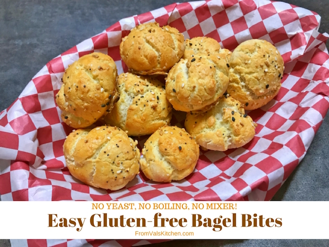Easy Gluten-free Bagel Bites Recipe From Val's Kitchen