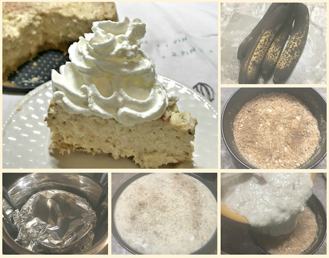 Pressure Cooker Banana Cheesecake Recipe From Val's Kitchen