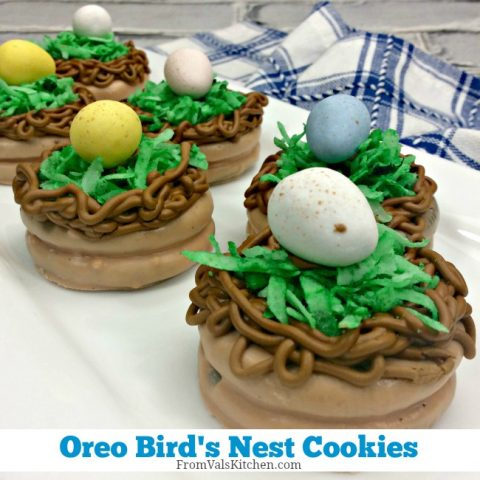 Oreo Bird's Nest Cookies Recipe From Val's Kitchen