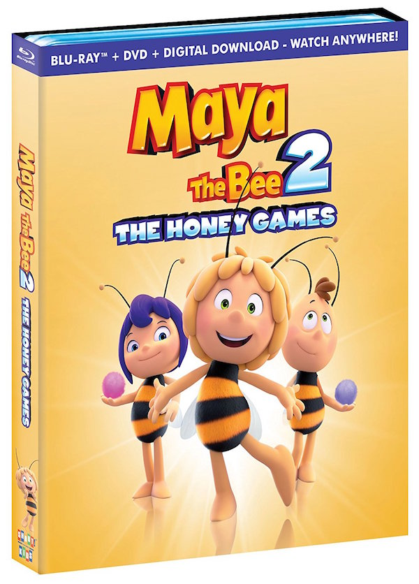 Maya The Bee 2: The Honey Games On Blu-ray/DVD