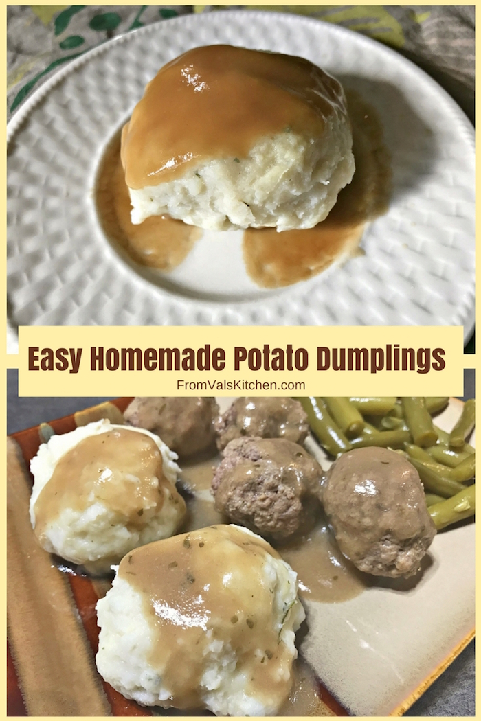Easy Homemade Potato Dumplings Recipe From Val's Kitchen (Potato Balls)