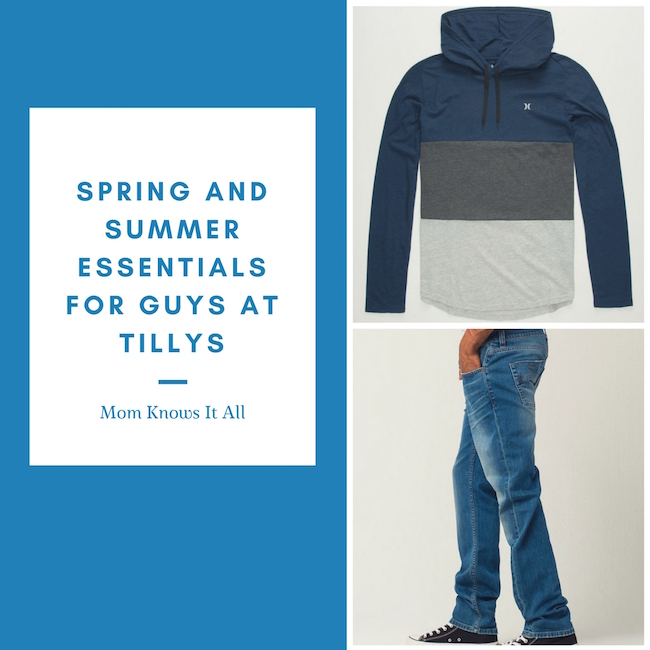 Spring And Summer Essentials For Guys At Tillys