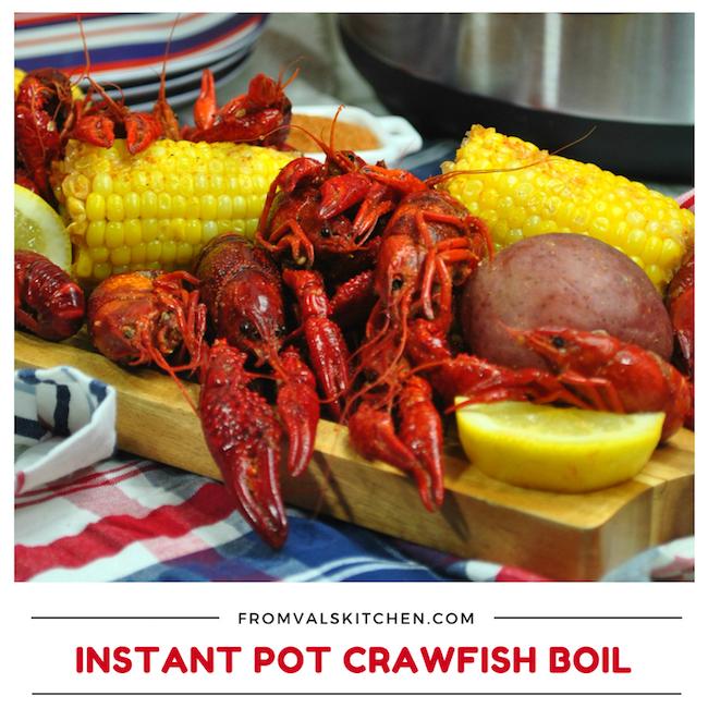 Instant Pot Crawfish Boil Recipe
