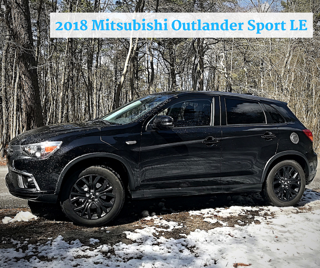 Mom Knows It All CAR REVIEW - 2018 Mitsubishi Outlander Sport LE