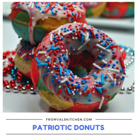 Patriotic Donuts Recipe