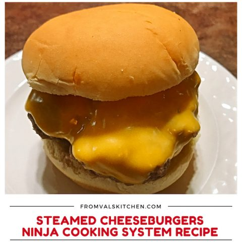 Steamed Cheeseburgers Recipe For Ninja Cooking System From Val's Kitchen