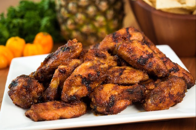 Pineapple Habanero Chicken Wings Recipe