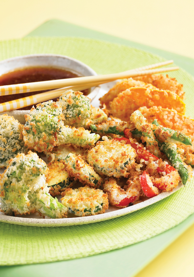 Tempura-Style Vegetables From 175 Best Air Fryer Recipes