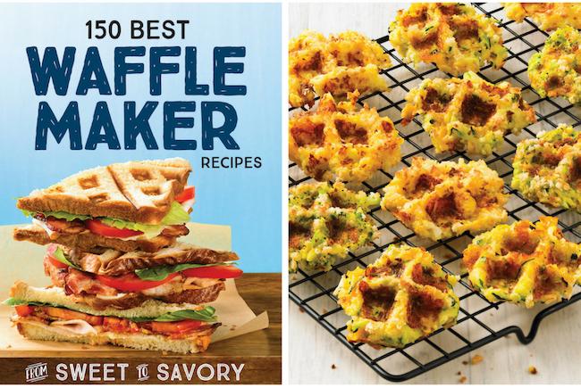 Waffled Veggie Tots - 150 Best Waffle Maker Recipes