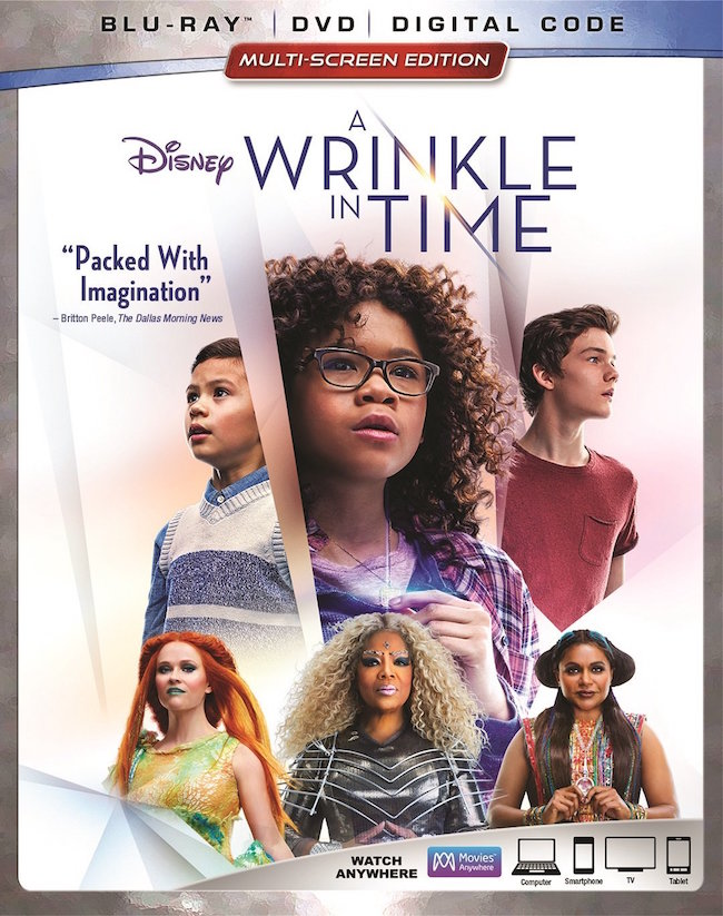 Disney A Wrinkle in Time Blu-ray
