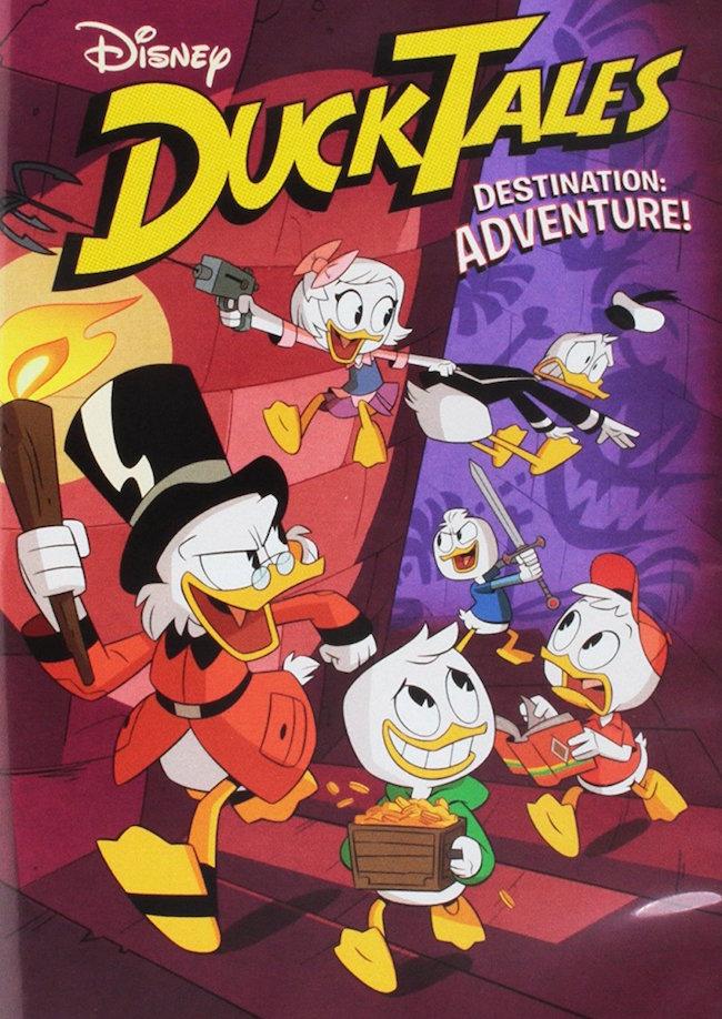 Disney DuckTales Destination: Adventure DVD