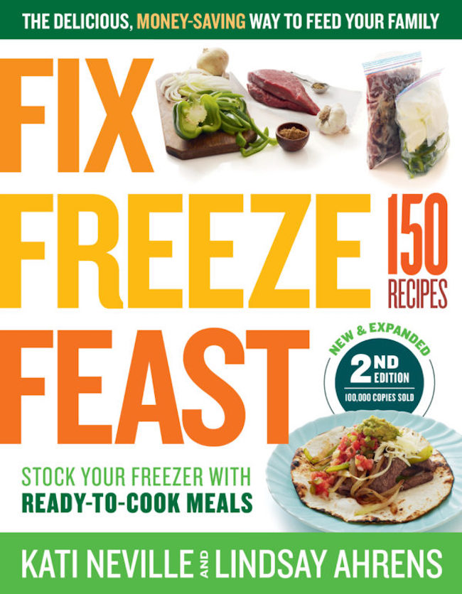 Fix Freeze Feast 2nd Edition cookbook