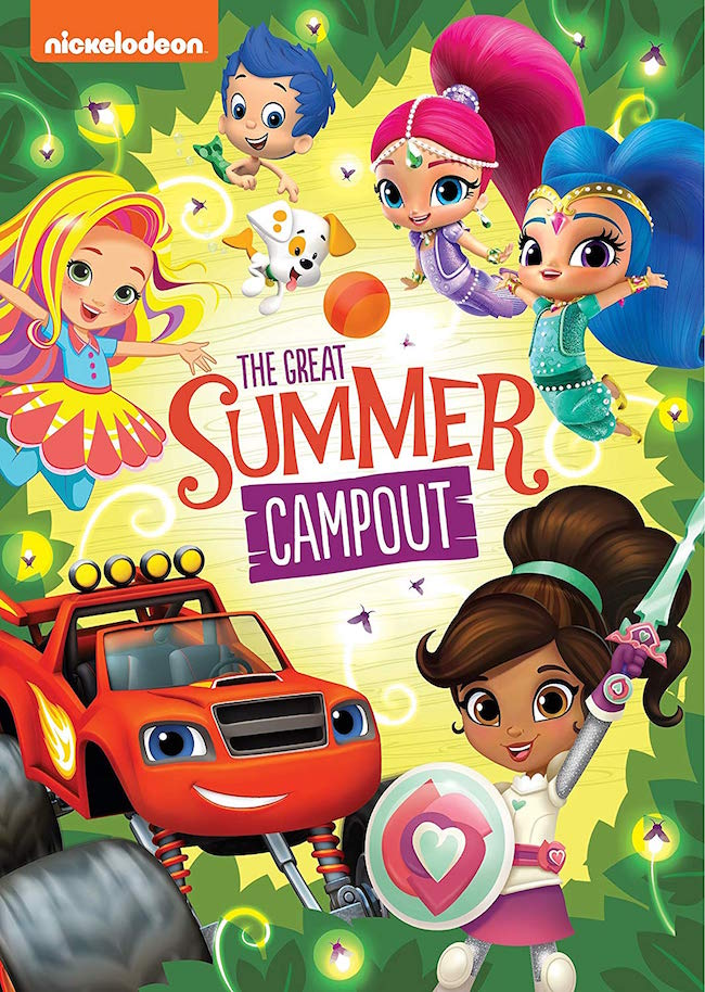 Nickelodeon Favorites: Great Summer Campout! DVD