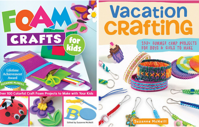 Friday Fun - Kids Crafting Books - Foam Crafts for Kids And Vacation Crafting