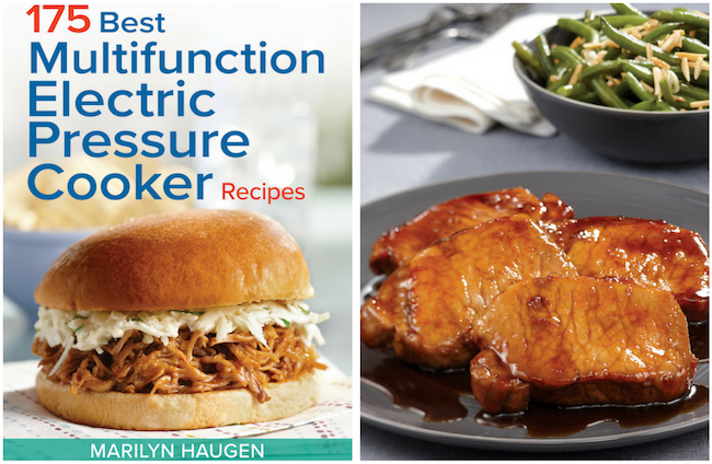 175 Best Multifunction Electric Pressure Cooker Recipes – Apple and Maple Glazed Pork Chops