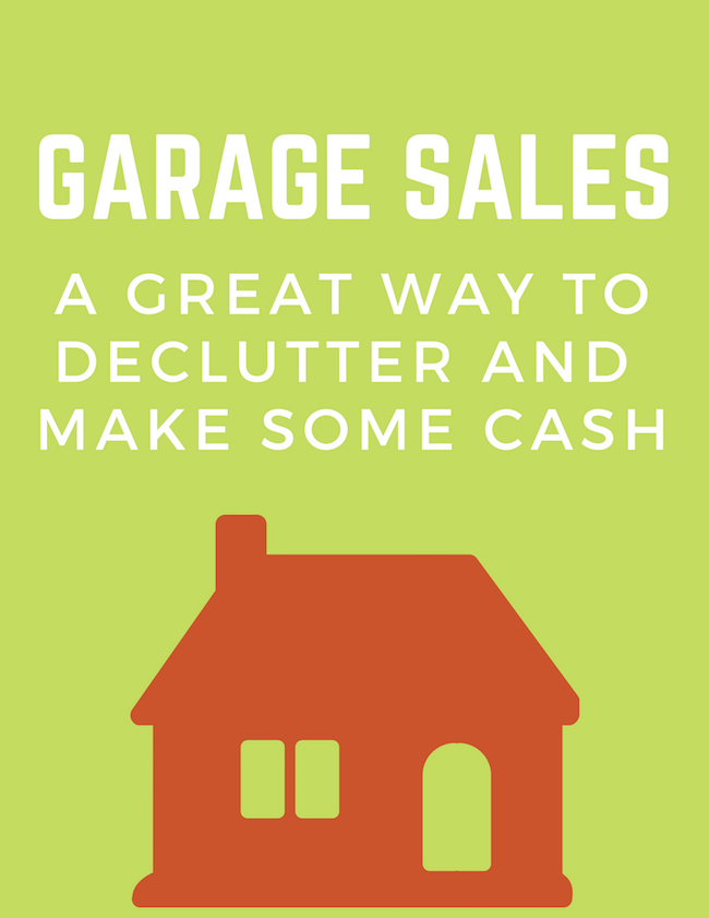 Garage Sales - A Great Way To Declutter And Make Some Cash