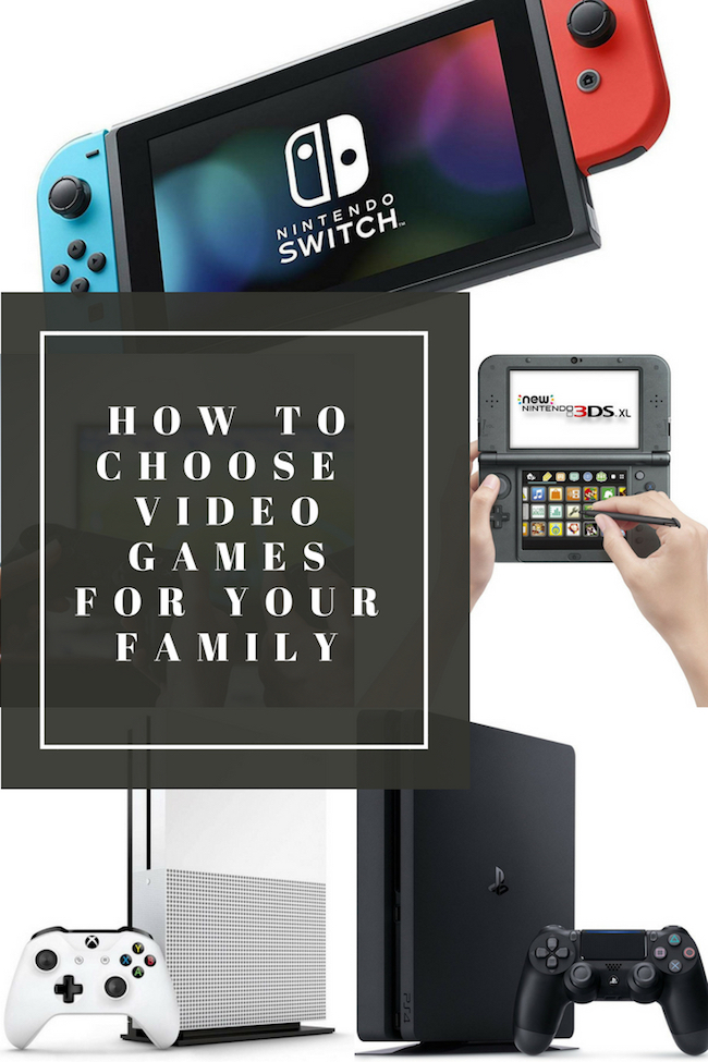 How To Choose Video Games For Your Family