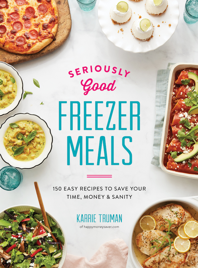 Seriously Good Freezer Meals cookbook
