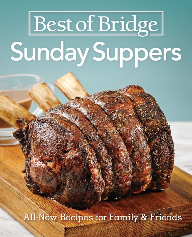 Best of Bridge Sunday Suppers cookbook