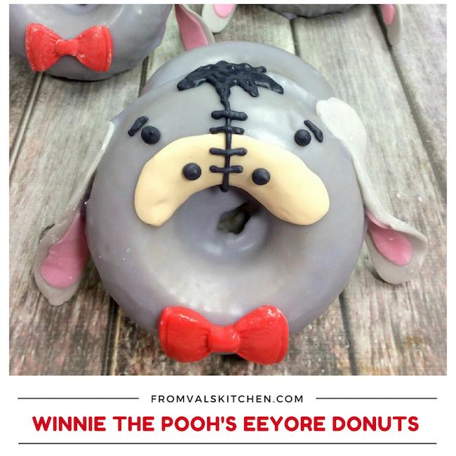 Winnie The Pooh's Eeyore Donut Recipe