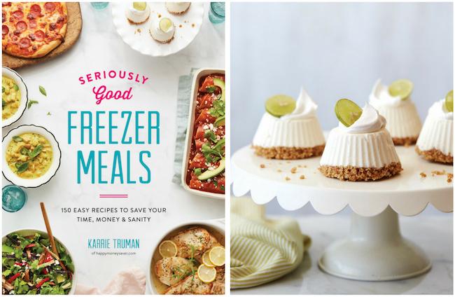 Mascarpone Key Lime Mini Pies - Seriously Good Freezer Meals