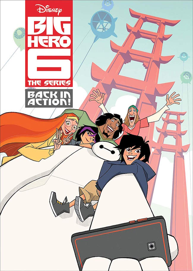 Big Hero 6: The Series: Back In Action! DVD
