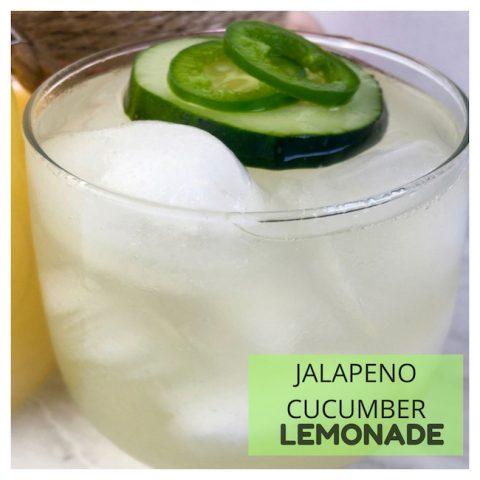 Jalapeno Cucumber Lemonade Recipe