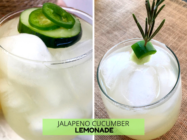 Jalapeno Cucumber Lemonade Recipe