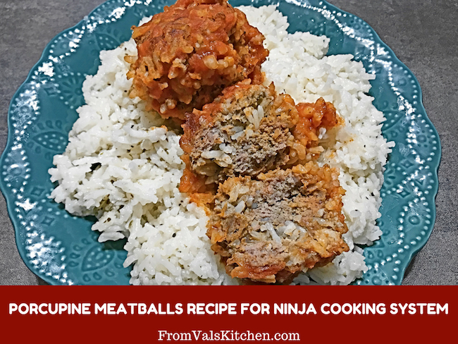 Porcupine Meatballs Recipe For Ninja Cooking System